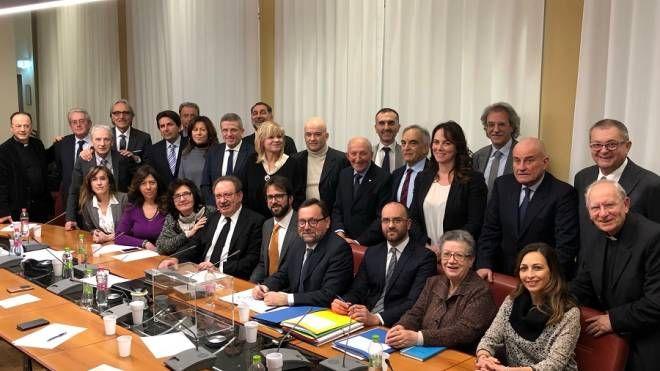 Foto di gruppo al termine delle votazioni