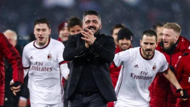 Milan in finale di Coppa Italia (Ansa)