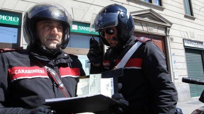 Donna salvata da una lettera ai carabinieri
