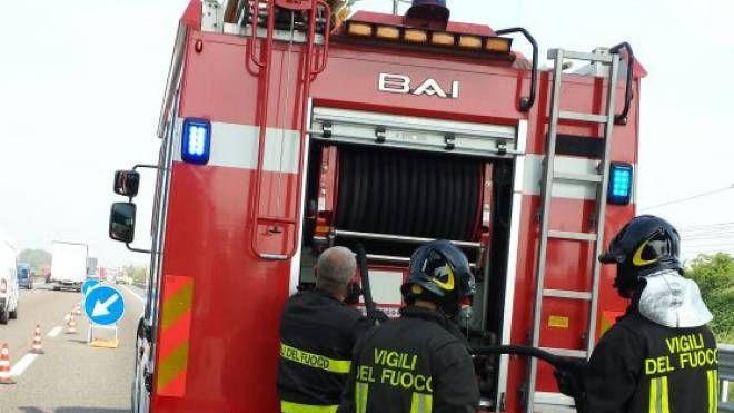Una squadra dei pompieri