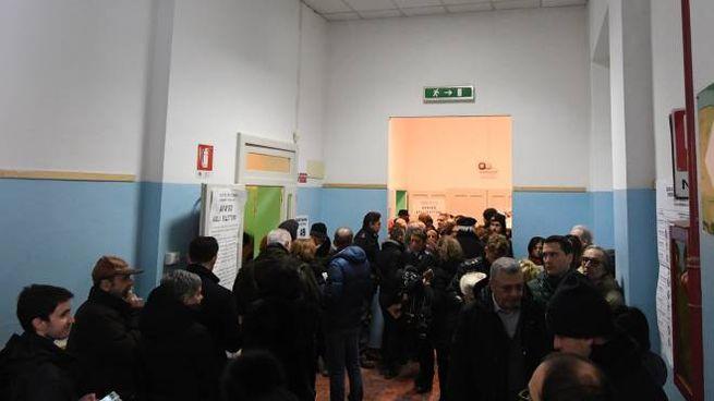 Elezioni 4 marzo, code ai seggi di Bologna (FotoSchicchi)