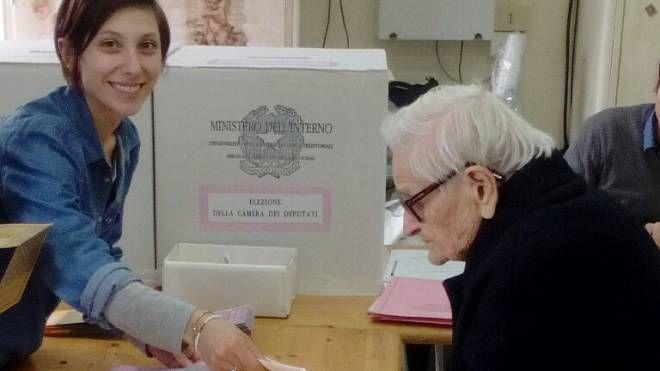 Rosa Ercoli aveva 107 anni (foto Zeppilli)