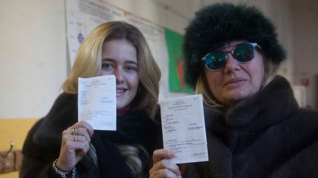 Elezioni 4 marzo, ai seggi di Ravenna (foto Corelli)