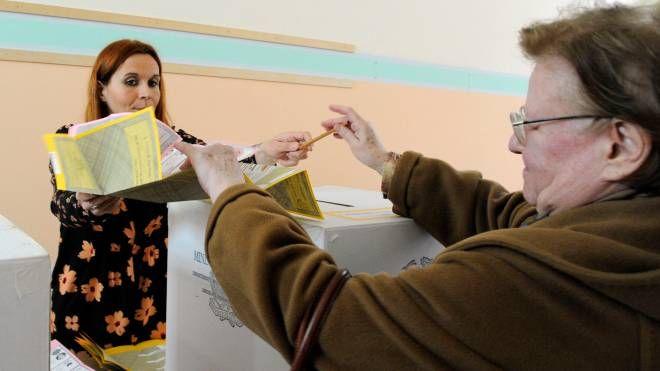 Elezioni 4 marzo, al voto a Macerata (foto Calavita)