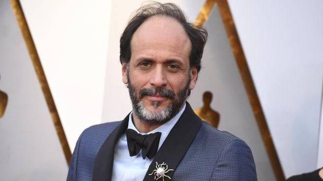 Oscar 2018, Luca Guadagnino sul red carpet (Ansa)