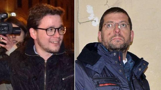 Lorenzo Gasperini, del centrodestra, e Andrea Romano