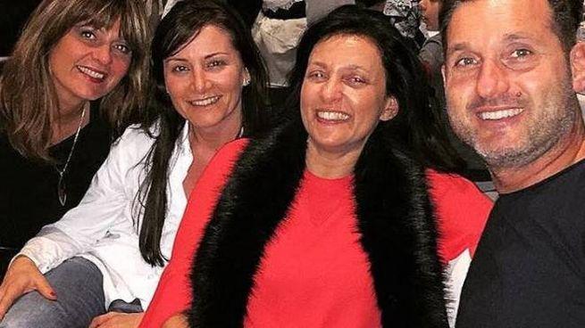 Al centro Elena Raffaelli con il sindaco Renata Tosi