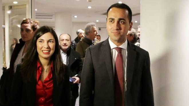 Luigi Di Maio con Giulia Sarti
