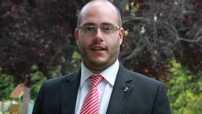 Il segretario comunale Pd Matteo Marchi
