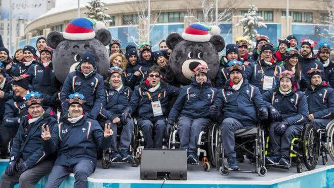 Paralimpiadi invernali 2018, la delegazione azzurra