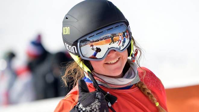 Michela Moioli vince anche la coppa del mondo (Lapresse)
