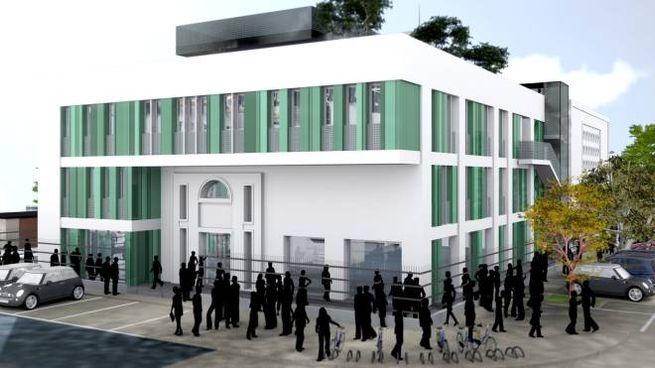 Il progetto della moschea da costruire in via Luini