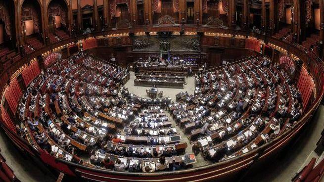 Una veduta della Camera dei deputati (Ansa)
