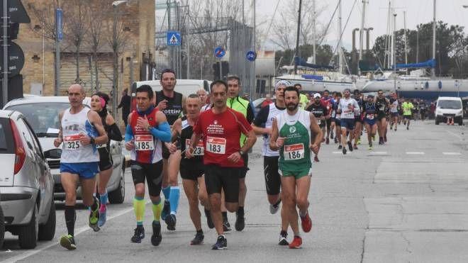 Un momento della corsa (foto De Marco)