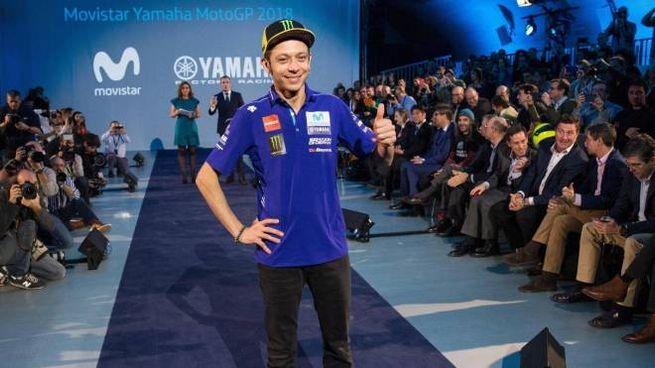 Valentino Rossi rinnova con la Yamaha (Ansa)