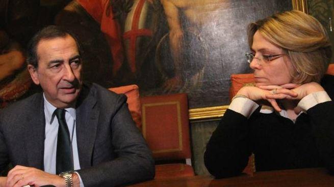 Il sindaco Giuseppe Sala e la vice Anna Scavuzzo