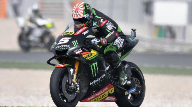 Motogp 2018, Johann Zarco in pole position in Qatar (Ansa)