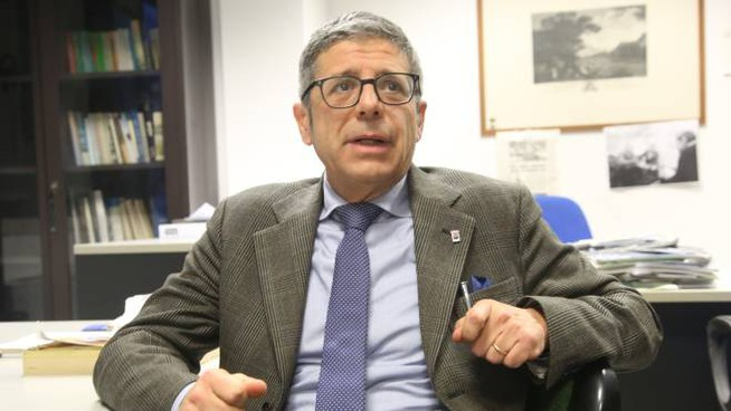 Il coordinatore politico e consigliere comunale di Libera Cesena Stefano Spinelli, 56 anni