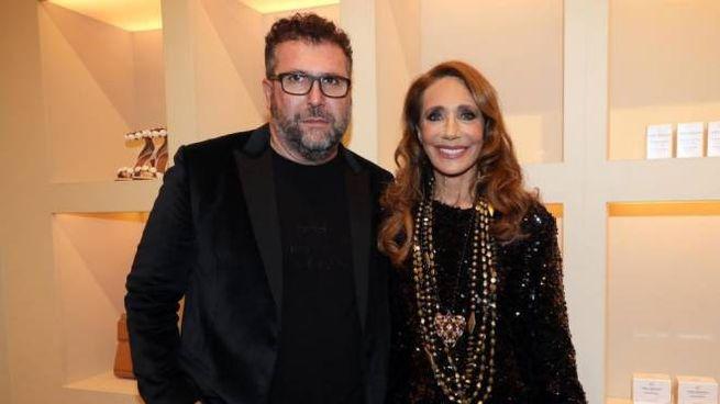 Jacopo Tonelli e Marisa Berenson