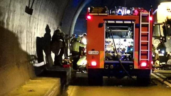 Incidente nel tunnel Covelo
