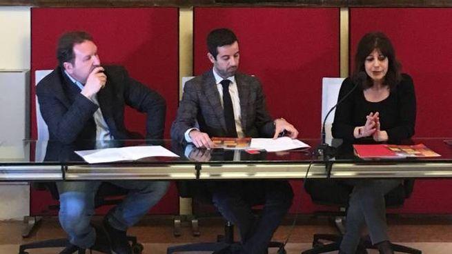 Osvaldo Danzi (Fiordirisorse), l'assessore Lombardo, Stefania Zolotti (Senza Filtro)
