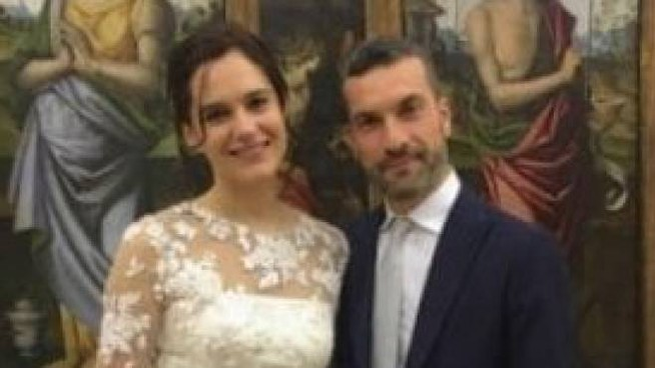 Faenza, matrimonio in Pinacoteca per Laura e Giacomo