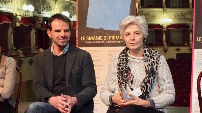 Il direttore Marino e l'assessore Severini