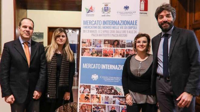 Fabrizio Matucci,  Francesca Scotti, Claudia Pennucci e Antonio Ponzo