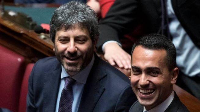 Roberto Fico con Luigi Di Maio (LaPresse)