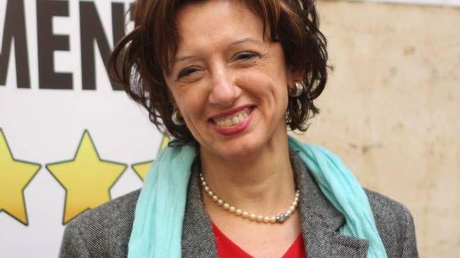 Manuela Sangiorgi, candidata sindaco M5S a Imola (Foto Isolapress)