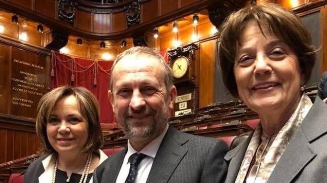 Da sinistra Susanna Cenni, Stefano Ceccanti e Lucia Ciampi