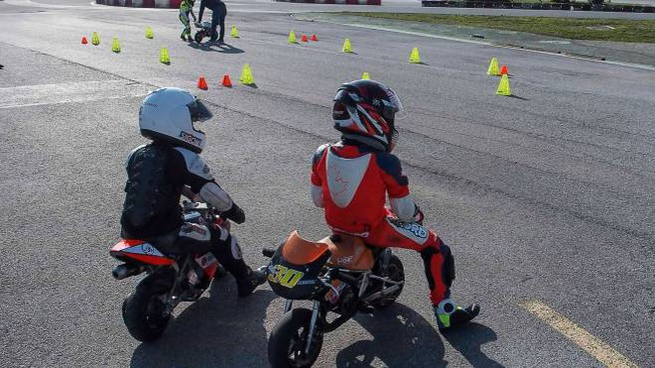 promo code 000f6 44a04 A Misano la prima scuola per baby motociclisti, sulle orme ...