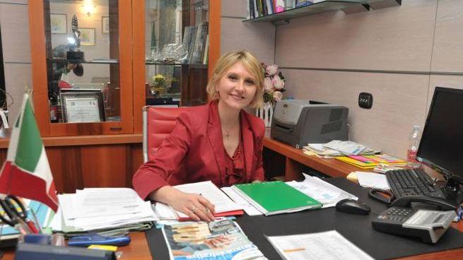 Il sindaco Ivonne Cosciotti non sembra preoccupata