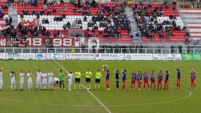 La Vis Pesaro ha battuto 2-0 la Sangiustese al Benelli