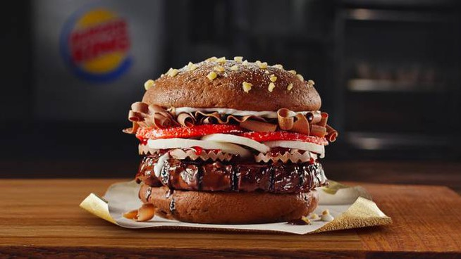Il Chocolate Whopper di Burger King
