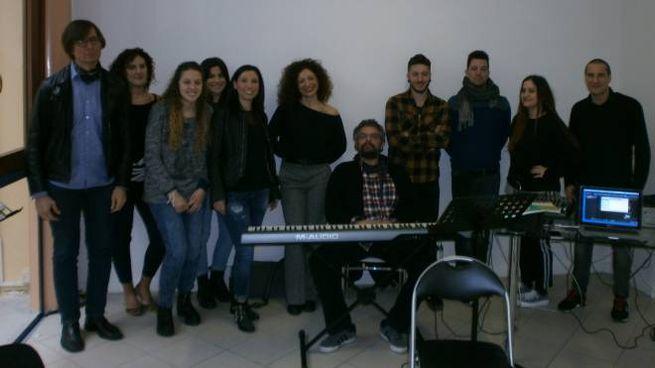 Il gruppo con Paolo Rodini