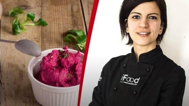 La food blogger Claudia Casadio