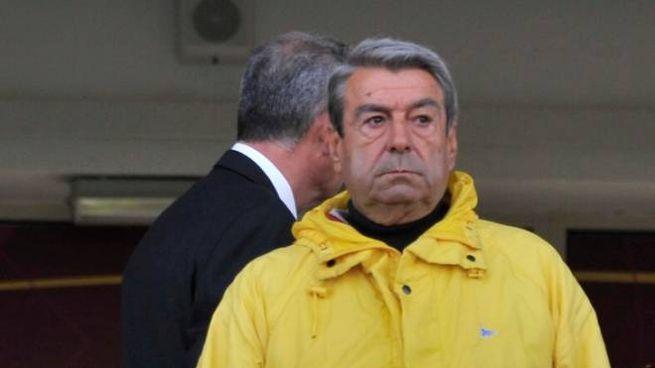 Il patron del Livorno, Aldo Spinelli (Novi)