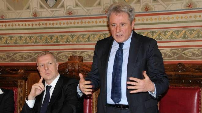 Alberto Presezzi e il commissario Andrea Lolli