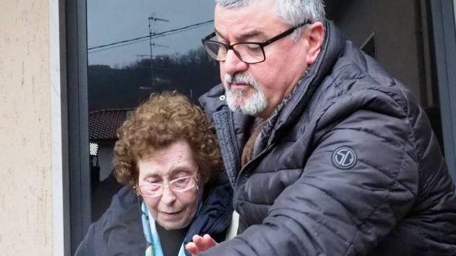 Franca Venturini esce dalla caserma