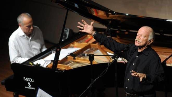 Gino Paoli domani al teatro Manzoni con il pianista jazz Danilo Rea