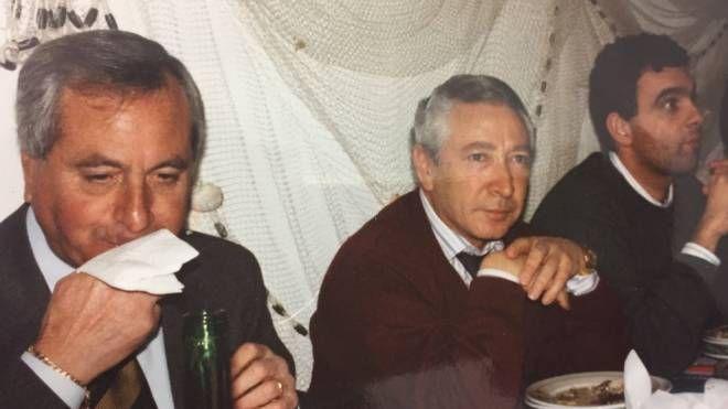 Da sinistra Roberto Clagluna, Mauro Bindi e il dottor Edoardo Cantilena
