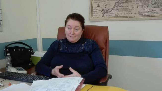 La dottoressa Ellena Pioli