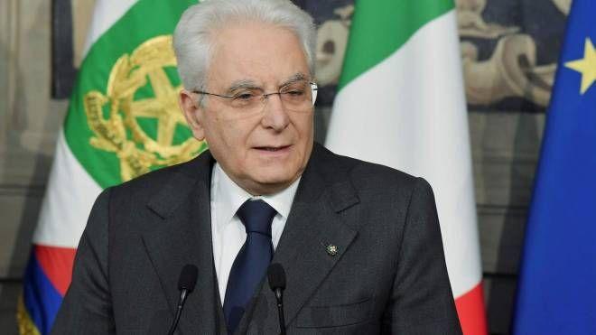 Il Capo dello Stato, Sergio Mattarella