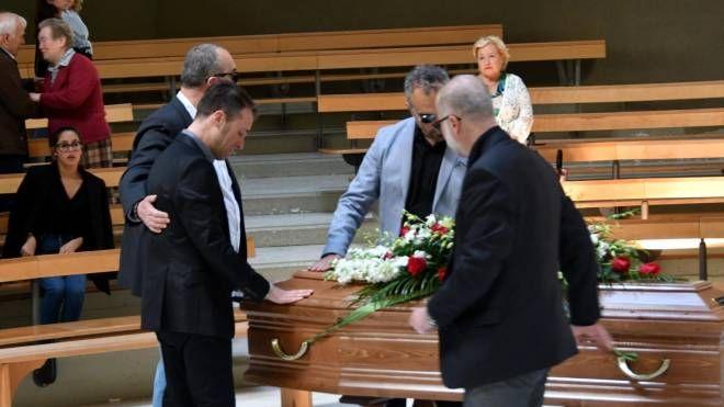 il funerale di Carmine Rifugio alla chiesa di San Pio X (foto di Paola Nizza)