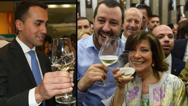 Vinitaly, Di Maio, Salvini e Casellati