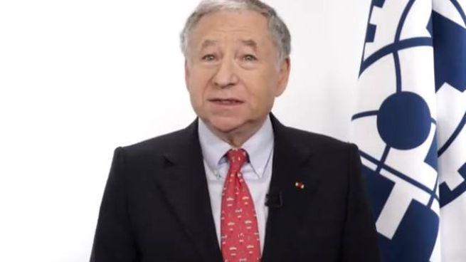 Jean Todt, presidente della Fia, nel suo videosaluto al Motor Legend Festival