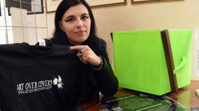 "L'artista seregnese Sara ""Shifter"" Pellucchi"