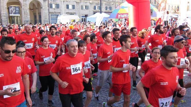 Run fo Red Cross a Pesaro (Fotoprint)