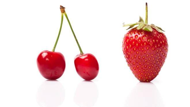 Fragole e ciliegie hanno basso indice glicemico - foto iphotos35